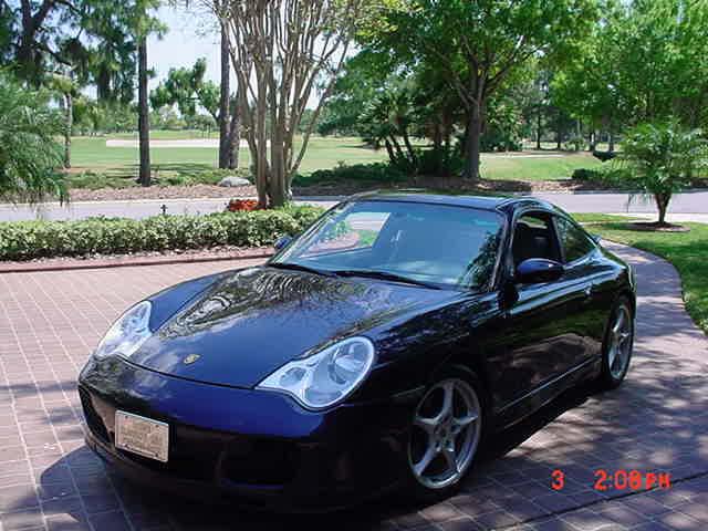 2003 Porsche 911 Carrera Targa Coupe, 25000 miles, 320HP,