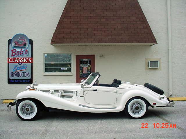1934 mercedes 500k heritage replica factory built in for 1934 mercedes benz 500k heritage replica