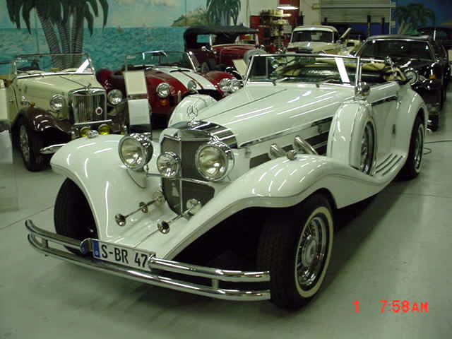 1936 mercedes 540k thoroughbred replica built in 1984 for 1936 mercedes benz 540k replica