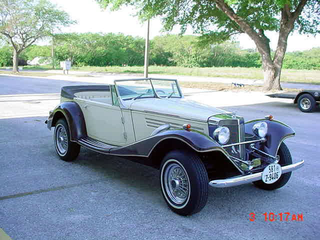 1936 mercedes 540k baron replica 4 seater v6 ford for 1936 mercedes benz 540k replica
