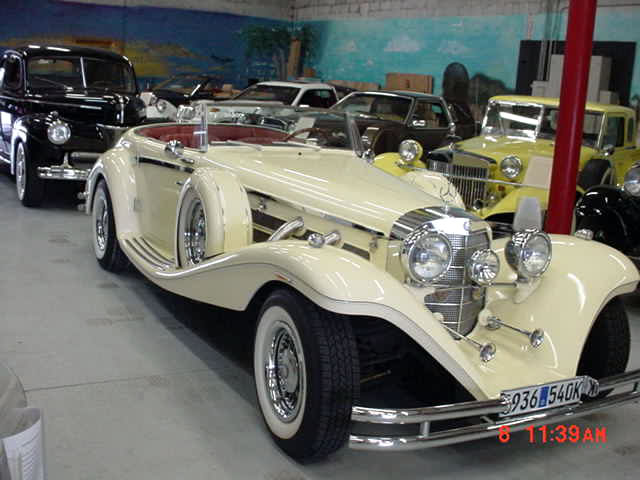 1936 mercedes 540k thoroughbred replica built in 1985 for 1936 mercedes benz 540k replica
