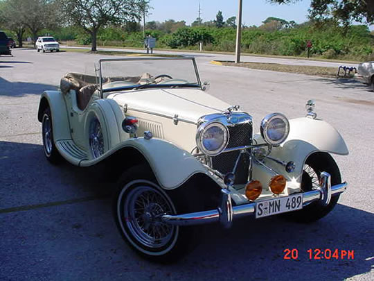 1939 jaguar ss100 replica duke from classic roadsters 2 3 liter ford