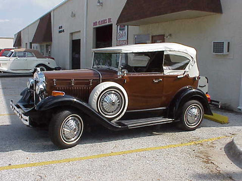 1931 Model A Ford Phaeton Glassic 2 Tone