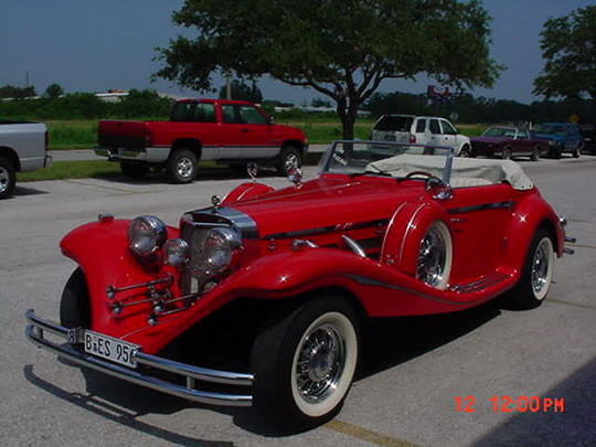 1936 mercedes 540k replica 2 seater cabriolet for 1936 mercedes benz 540k replica
