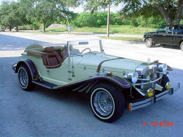 1929 mercedes ssk gazelle factory built replica with for Mercedes benz gazelle