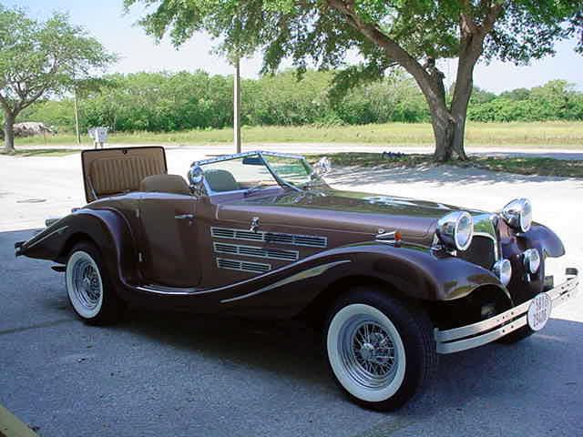 1934 mercedes 500k 1981 centaur replica not a kit car. Black Bedroom Furniture Sets. Home Design Ideas
