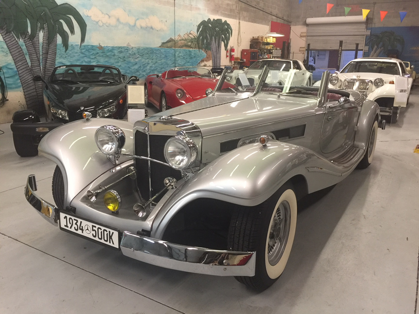 1934 mercedes 500k special roadster replica from ht price for 1934 mercedes benz 500k heritage replica