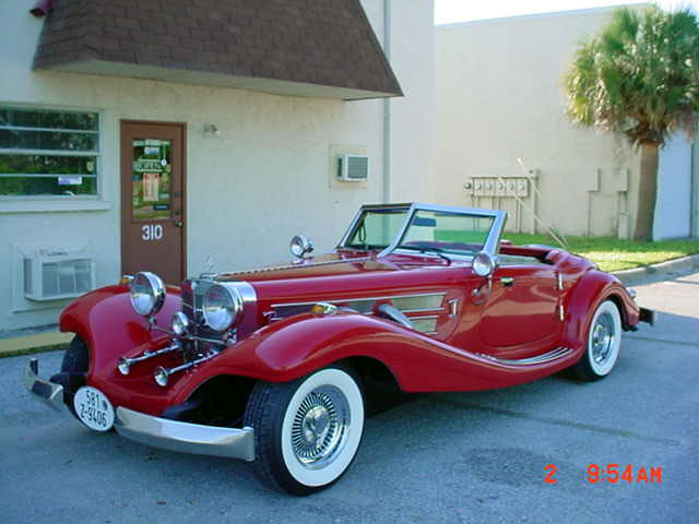 1934 mercedes 500k special roadster replica from heritage for 1934 mercedes benz 500k heritage replica