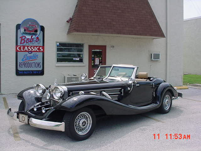 1934 mercedes 500k special roadster replica top of the for 1934 mercedes benz 500k heritage replica