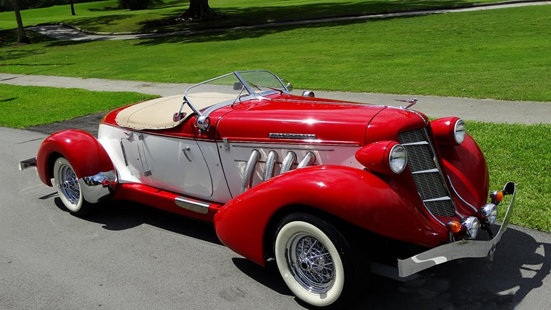 1935 Auburn Boattail Speedster Replica From California