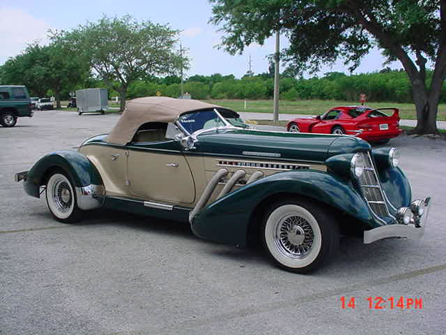 1936 Auburn Boattail Sdster Replica Not A Kit But Factory Built Car From Motorcars In Florida 2004 5 3 Chevy Vortex Auto Air