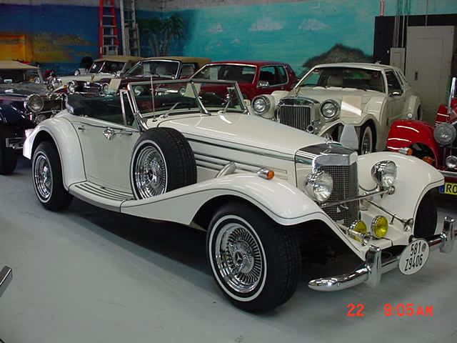 1936 Mercedes 500k Replica Marlene Model From Classic
