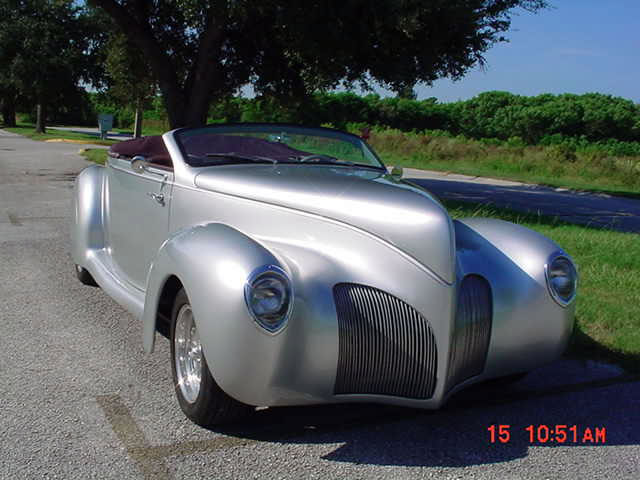 1939 Lincoln Zephyr Roadster Super Rare 1 Of 41 Ever Built Not A