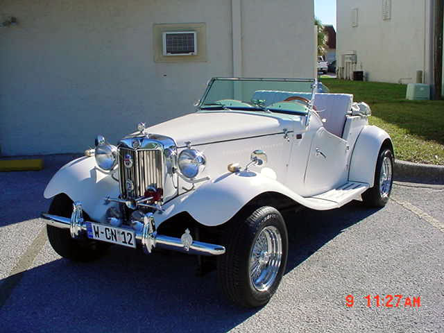 1952 Mgtd Replica From Classic Motor Carriages Fiberfab