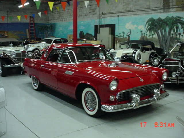 1955 Ford T Bird Replica Factory Built In 1983 From