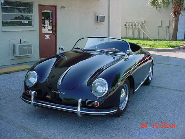 1955 Porsche 356 Speedster Replica From Classic Motor
