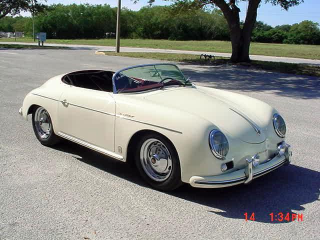 1957 Porsche 356 Speedster Super 1600 Replica From The