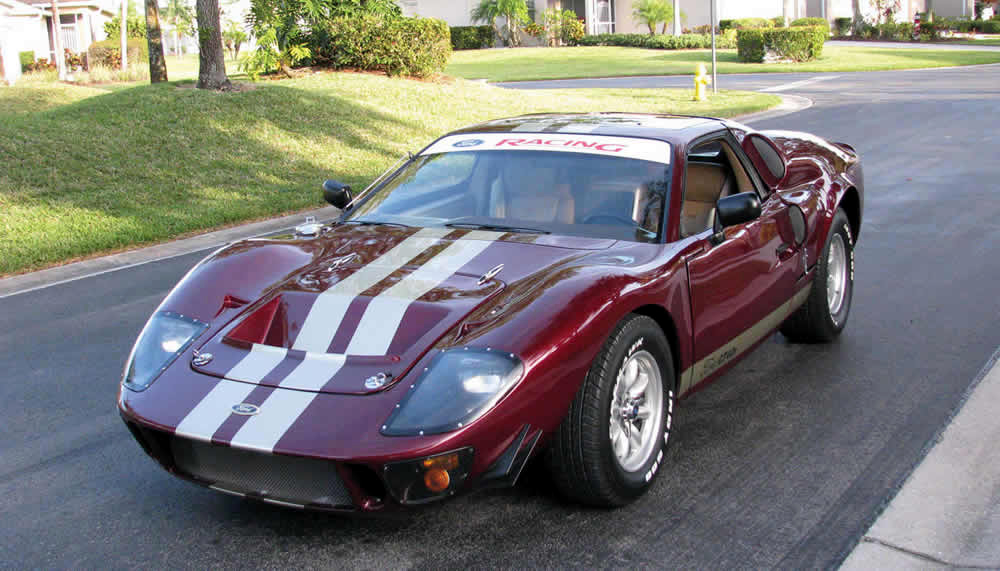 Ford Gt Replica Finished In  Naf Body Kit On  Pontiac Fiero Drivetrain Is From A  Ford Contour  Liter V Duratec Fuel