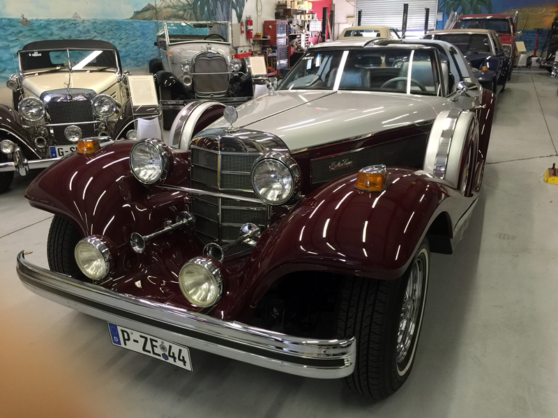 1981 Berlina/36 Mercedes 540k replica-factory built on a brand new ...