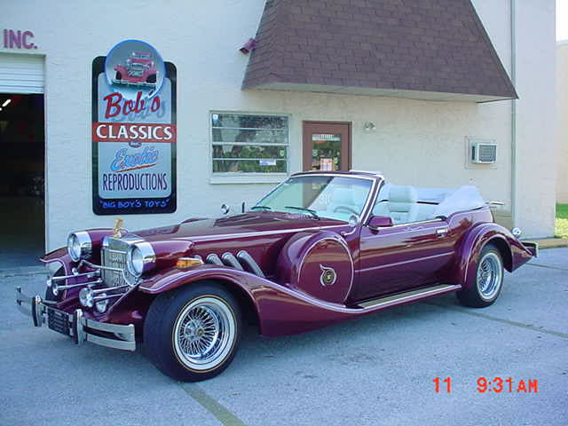 1985 Zimmer Golden Spirit Convertible Super Rare Cars