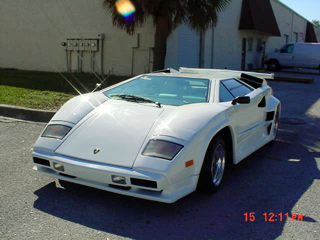 1991 Lamborghini Countach 5000 Replica Built By I F C In